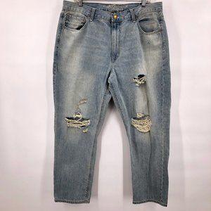 NWT American Eagle boy friend distressed jeans